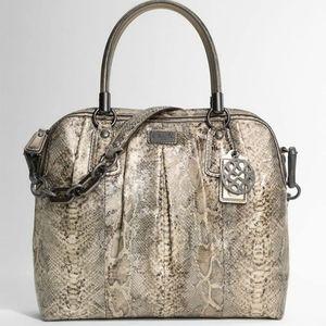 Coach python bag
